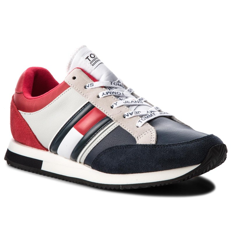 010ee518ae Ανδρικό Sneaker – Ανδρικά Υποδήματα – TOMMY HILFIGER Casual Retro Sneaker