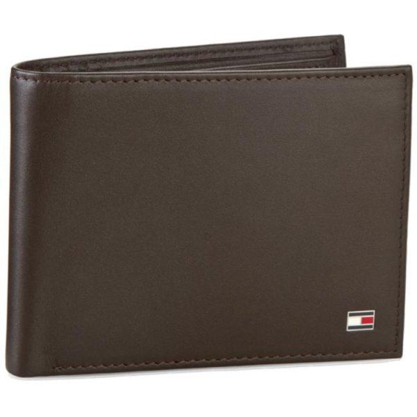 Δερμάτινα πορτοφόλια - Προσφορές - επώνυμα πορτοφόλια - Αντρικό ΠορτοφόλιTommy Hilfiger