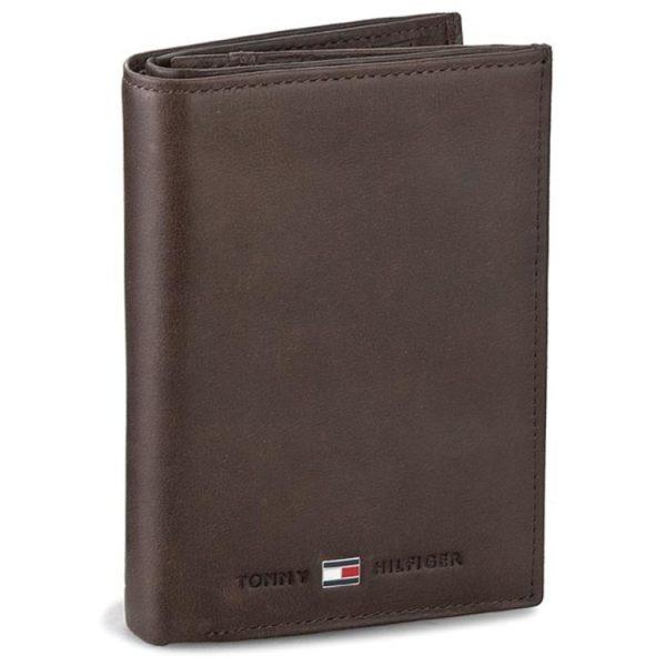 Αντρικό ΠορτοφόλιTommy Hilfiger - Νέες παραλαβές σε ανδρικά πορτοφόλια - καφέ δερμάτινο πορτοφόλι