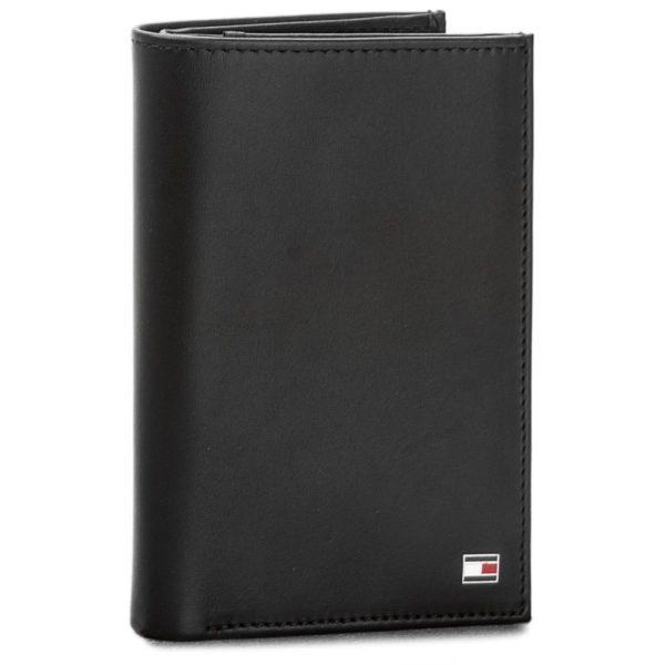 Επώνυμα ανδρικά πορτοφόλια - δερμάτινο πορτοφόλι Tommy Hilfiger - εκπτώσεις